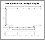 ETP-University High Jump Pit