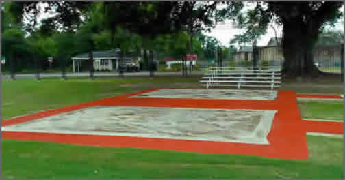 Long Jump Sand Pit Covers