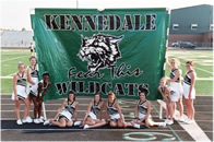 Cheerlead run through banners