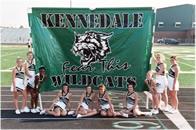Cheerlead run through banners