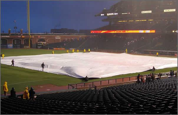 Baseball Tarp infield Cover