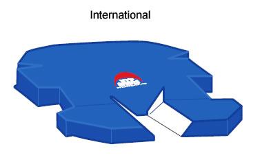 International Style Pole Vault Pit & Cover