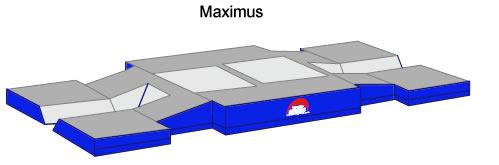 Maximus Pole Vault Landing System